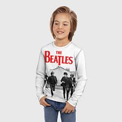 Лонгслив детский The Beatles: Break цвета 3D-принт — фото 2