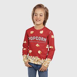 Лонгслив детский Popcorn цвета 3D — фото 2