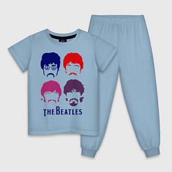 Детская пижама The Beatles faces