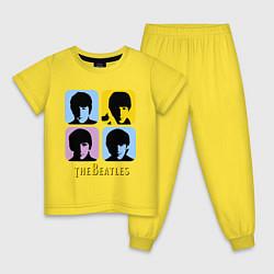 Детская пижама The Beatles: pop-art