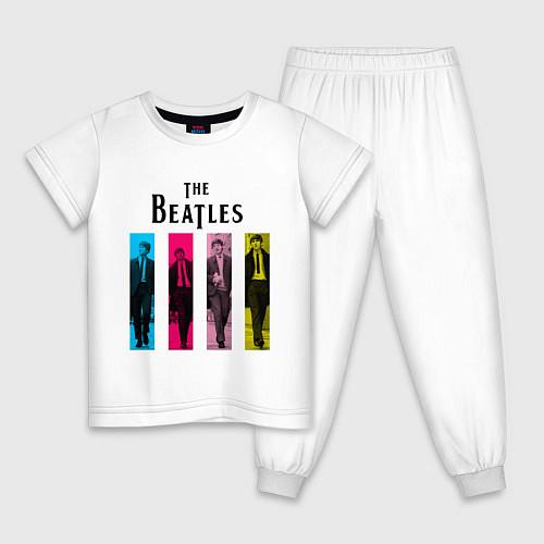 Детская пижама Walking Beatles / Белый – фото 1