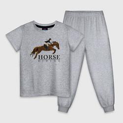 Детская пижама HORSE RIDING