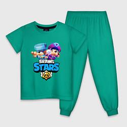 Детская пижама Генерал Гавс - Brawl Stars