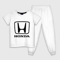 Детская пижама Honda logo