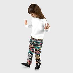 Брюки детские Этника цвета 3D — фото 2