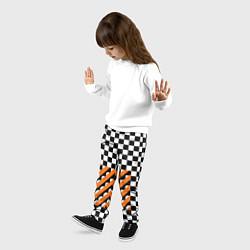 Брюки детские Off-White Штаны цвета 3D-принт — фото 2