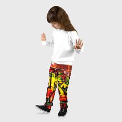 Брюки детские Red Graffiti цвета 3D — фото 2