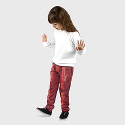 Брюки детские Iron Man Costume цвета 3D — фото 2