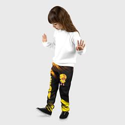 Брюки детские BRAWL STARS SALLY LEON цвета 3D — фото 2