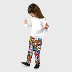 Брюки детские ROBLOX PIGGY цвета 3D-принт — фото 2