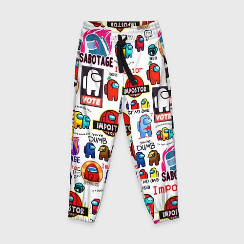 Детские брюки AMONG US / 3D – фото 1