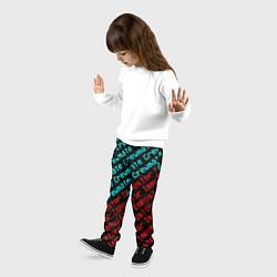 Брюки детские AMONG US - CrewmateImpostor цвета 3D-принт — фото 2