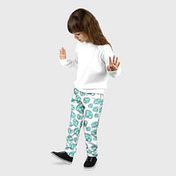 Брюки детские Бриллианты цвета 3D — фото 2