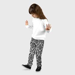 Брюки детские Гламурный узор цвета 3D — фото 2