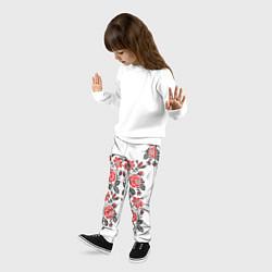 Брюки детские Вышивка 28 цвета 3D — фото 2
