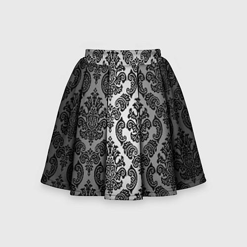 Детская юбка-солнце Гламурный узор / 3D – фото 1