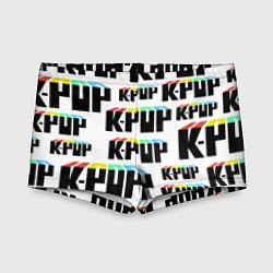 Плавки для мальчика K-pop Pattern цвета 3D — фото 1