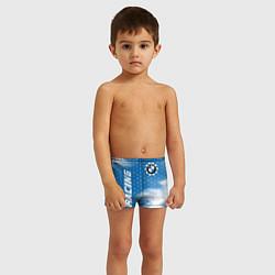 Плавки для мальчика БМВ - Пламя цвета 3D — фото 2