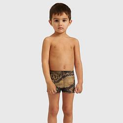 Плавки для мальчика Змеиная кожа цвета 3D — фото 2