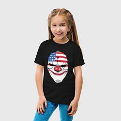 Футболка хлопковая детская American Mask цвета черный — фото 2