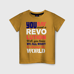 Детская футболка The Beatles Revolution
