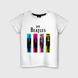 Детская футболка Walking Beatles