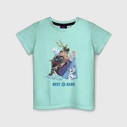 Детская футболка Frozen: Best Band