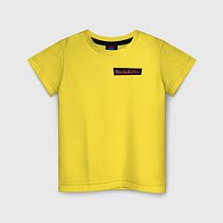 Футболка хлопковая детская WandaVision цвета желтый — фото 1