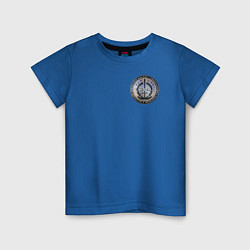 Футболка хлопковая детская S W O R D цвета синий — фото 1
