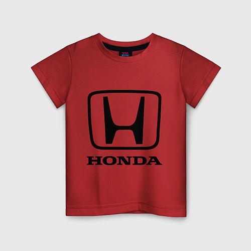 Детская футболка Honda logo