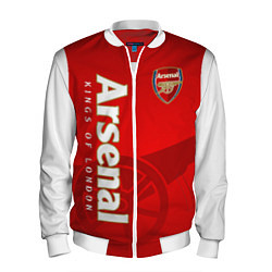 Бомбер мужской Arsenal цвета 3D-белый — фото 1