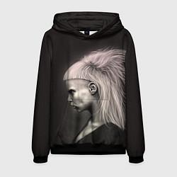 Толстовка-худи мужская Die Antwoord GIrl цвета 3D-черный — фото 1
