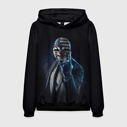 Толстовка-худи мужская Payday Rock цвета 3D-черный — фото 1