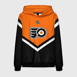 Толстовка-худи мужская NHL: Philadelphia Flyers цвета 3D-черный — фото 1