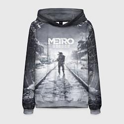 Толстовка-худи мужская Metro Exodus цвета 3D-меланж — фото 1