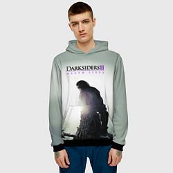 Толстовка-худи мужская Darksiders II: Death Lives цвета 3D-черный — фото 2