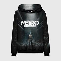 Толстовка-худи мужская Metro Exodus цвета 3D-черный — фото 1