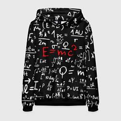 Толстовка-худи мужская E=mc2: Black Style цвета 3D-черный — фото 1
