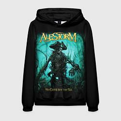 Толстовка-худи мужская Alestorm: Death Pirate цвета 3D-черный — фото 1