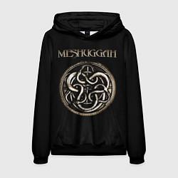 Толстовка-худи мужская Meshuggah цвета 3D-черный — фото 1