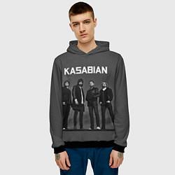 Толстовка-худи мужская Kasabian: Boys Band цвета 3D-черный — фото 2