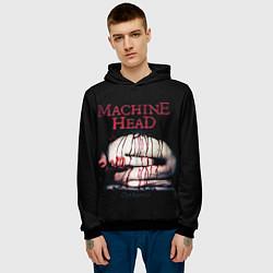 Толстовка-худи мужская Machine Head: Catharsis цвета 3D-черный — фото 2