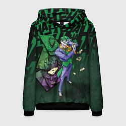 Толстовка-худи мужская Joker Games цвета 3D-черный — фото 1