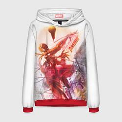 Толстовка-худи мужская Daredevil цвета 3D-красный — фото 1