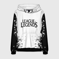 Толстовка-худи мужская League of legends цвета 3D-черный — фото 1