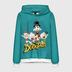 Толстовка-худи мужская Ducktales цвета 3D-белый — фото 1
