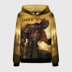 Толстовка-худи мужская Dark Souls: Braveheart цвета 3D-черный — фото 1
