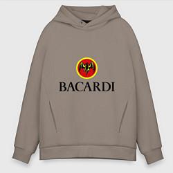 Толстовка оверсайз мужская Bacardi цвета утренний латте — фото 1