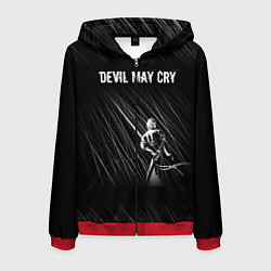 Толстовка 3D на молнии мужская Devil May Cry цвета 3D-красный — фото 1