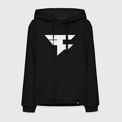 Толстовка-худи хлопковая мужская FAZE Symbol цвета черный — фото 1